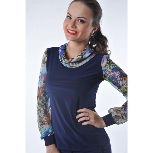 Блуза с длинным рукавом 54 размер-6682807