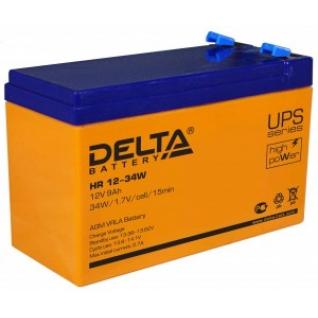 Аккумулятор для ИБП DELTA Delta HR 12-34W 135А универсальная полярность 9 А/ч (151x65x100)