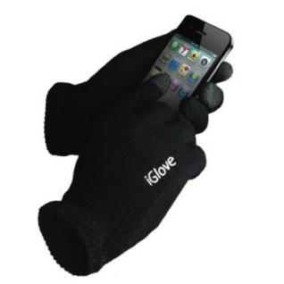 Перчатки iGlove для сенсорных экранов (черные, акриловые)