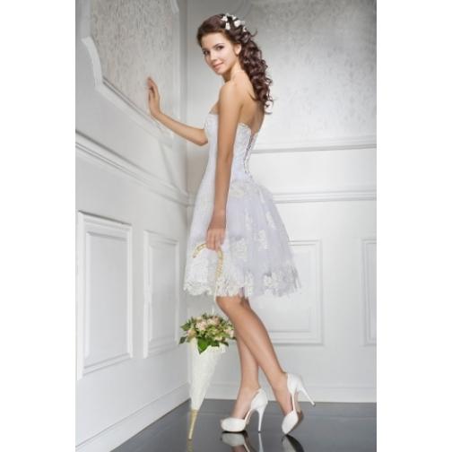 Платье свадебное Короткие свадебные платья⇨Софи-661956