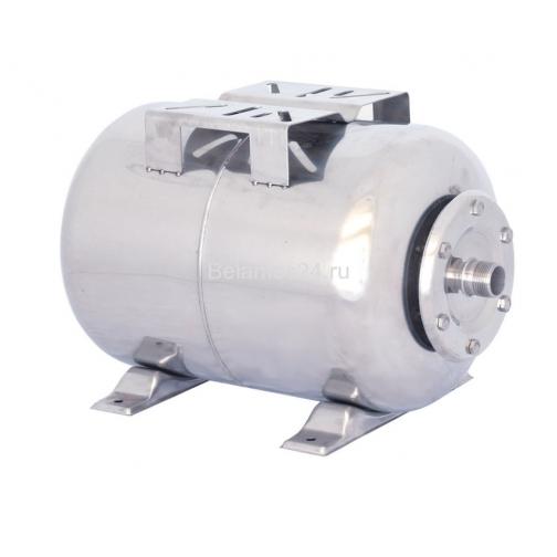 Гидроаккумулятор Belamos 24SS нержавейка, горизонтальный 5005574