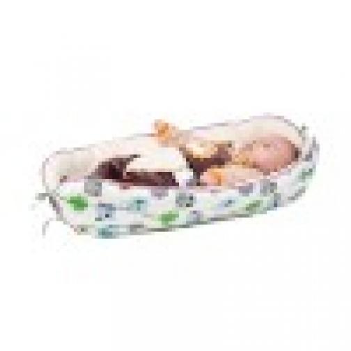 Кокон гнездышко для новорожденного HoneyMammy-465393