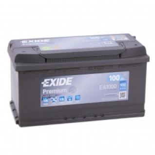 Автомобильный аккумулятор EXIDE EXIDE Premium EA1000 (100R) 900А обратная полярность 100 А/ч (353x175x190)-5789034
