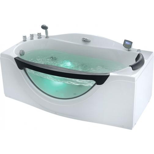 Акриловая ванна Gemy с гидромассажем (G9072 K) 6822365 1