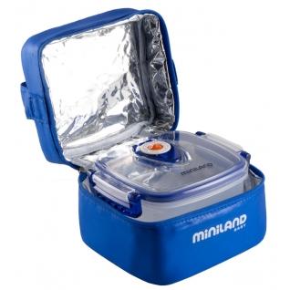 Термосумка Miniland Термосумка с 2 вакуумными контейнерами синяя