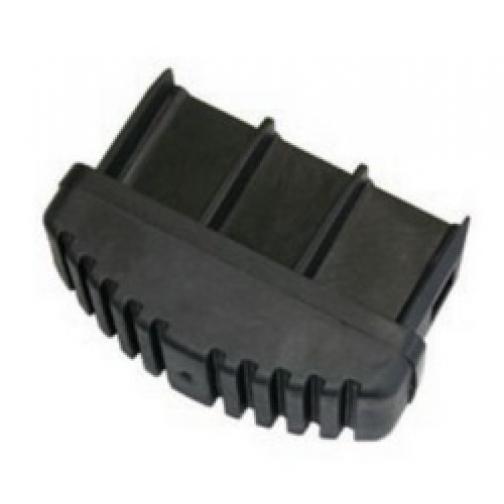 Пробки для опор (пара) 97 х 25 мм, чёрн.-447285