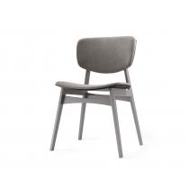 Мягкий стул SID Тёмная берёза + платиновый