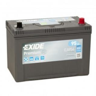 Автомобильный аккумулятор EXIDE EXIDE Premium EA954 (95R) 800А обратная полярность 95 А/ч (306x173x223)-5789037
