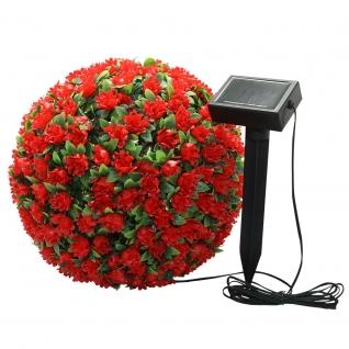 Светильник садово-парковый Feron E5209 Цветочный шар красный-8692208