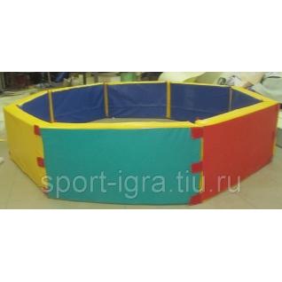 Сухой бассейн восьмиугольный-5350534