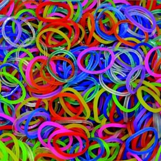 Резиночки для плетения браслетов Rainbow Loom, гелевые микс-37716847