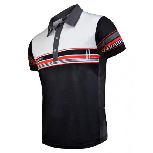Велофутболка 12-200 Polo Jersey design P-765 Rad/Black красно-черная S FunkierBike-1999404