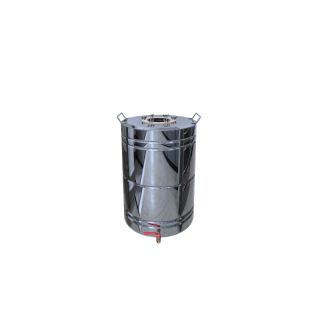 Перегонный куб с ребрами жесткости 50 литров + кран-37660174