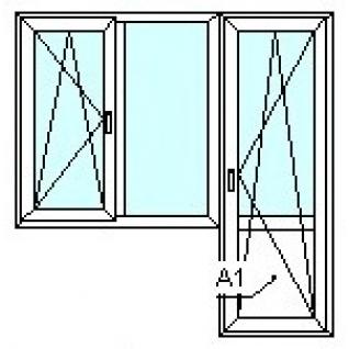 TEPLOWIN Балкон Тепловин Эстетик 400 с одной створкой-1294886
