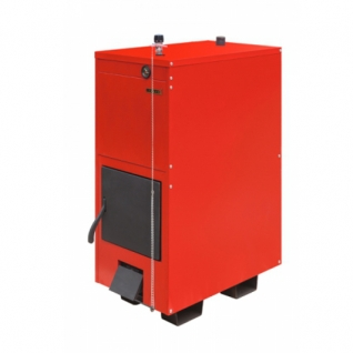 Буржуй-К Модерн-24-2К – двухконтурный модернизированный твердотопливный пиролизный котел мощностью 24 кВт