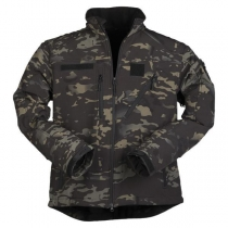Mil-Tec Куртка Softshell SCU 14, камуфляж черный мультикам