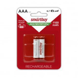 Аккумулятор Smartbuy 1100 mAh AAA/2BL NiMh 2шт/бл (SBBR-3A02BL1100)