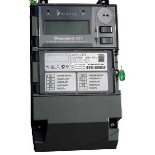 Электросчетчик Меркурий 233 ART-01 ROL многофункциональный-1427179