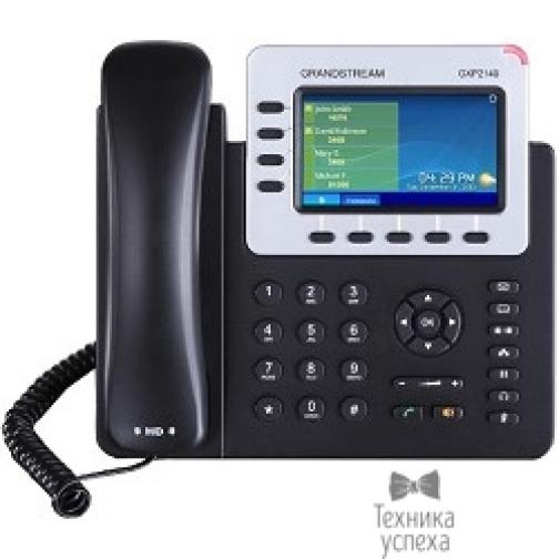 Grandstream Grandstream GXP-2140, VoIP 2 Порта Ethernet 10/100/1000, 4 SIP линий, цветной TFT дисплей 48-5798985