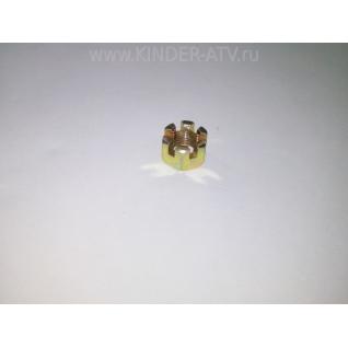 Гайка ступичная, передняя (125сс)-1025927