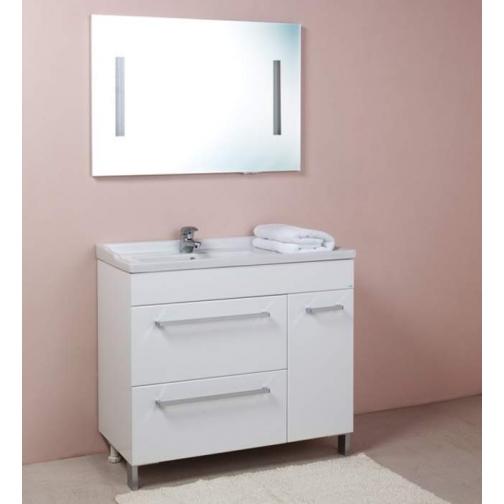 Зеркало с полочкой Onika Олимп 100.02-6769260