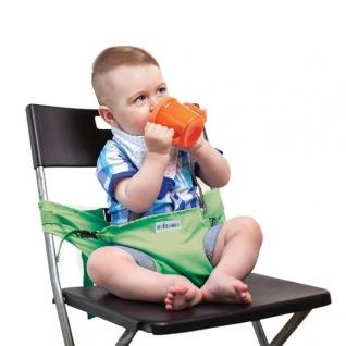 Портативный стульчик-чехол, зеленый Жирафики-37732432