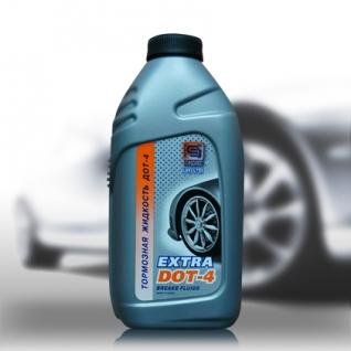 Тормозная жидкость Промпэк Дот4 EXTRA, 455г-5921482