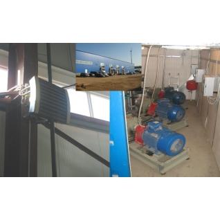 Теплогенераторы жидкотопливные, насос-теплогенератор 075-464917