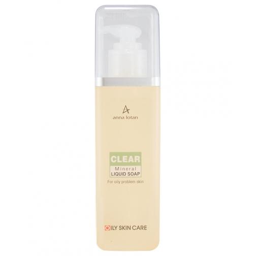 Anna Lotan Clear Mineral Liquid Soap - Гигиеническое минеральное мыло для жирной и проблемной кожи-4941866
