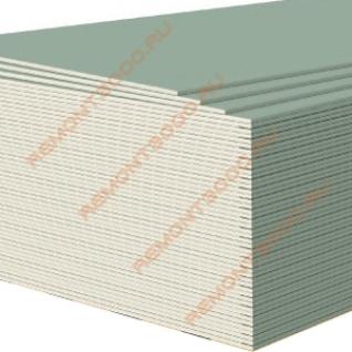 КНАУФ ГКЛВ гипсокартон влагостойкий 1500х600х12,5мм (0,9м2) / KNAUF ГКЛВ гипсокартонный лист влагостойкий 1500х600х12,5мм (0,9 кв.м.) Кнауф-37458794