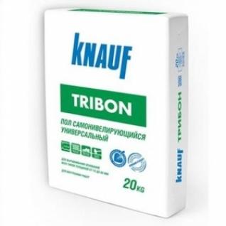 Ровнитель для пола Кнауф Трибон гипсо-цементный /20,0 кг/ (56 шт на поддоне)-6032617