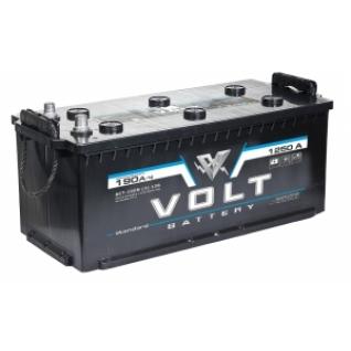 Автомобильный аккумулятор VOLT VOLT STANDARD 190 под болт 1250А прямая полярность 190 А/ч (516x223x223)-5789055