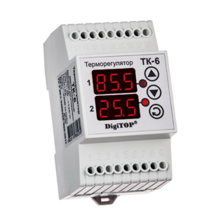 Терморегулятор DigiTOP ТК-6 (крепление на DIN-рейку)-6775762