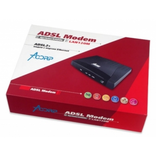 Acorp Модем Acorp Sprinter@ADSL LAN120M Annex A (ADSL2+)