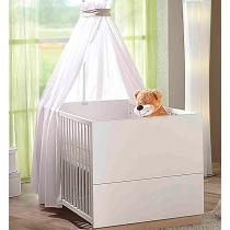 Кровать Geuther Детская кроватка Vista белая