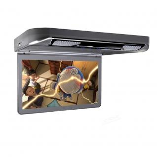 """Автомобильный потолочный монитор 13.3"""" со встроенным Full HD медиаплеером ERGO ER13S-DVD (темно-серый) Ergo-5763556"""