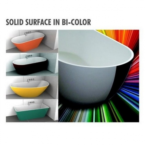 Ванна SOLID SURFACE RIHO BILBAO 150x75 см 6649991 4