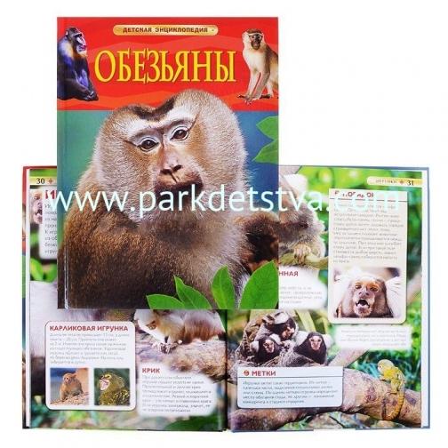 Детская энциклопедия Обезьяны Росмэн-Пресс-6826964