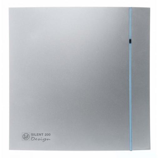 Вентилятор Soler & Palau Silent-200 CZ Silver Design-3C-6770124