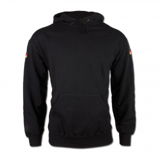 Made in Germany Толстовка Germany с капюшоном, цвет черный-5024229