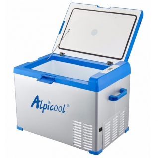 Kомпрессорный автохолодильник ALPICOOL A40 синий (40л, 12/24/220В)-36995013