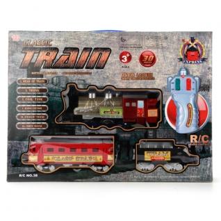 Железная дорога р/у Classic Train (свет), 30 дет.-37741800