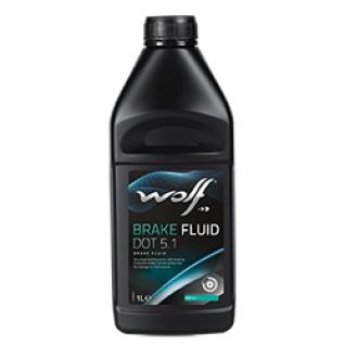Тормозная жидкость WOLF BRAKE FLUID DOT 5.1 0.5л-5922006