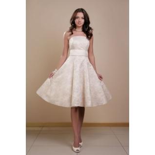 Платье свадебное Короткие свадебные платья⇨Лана-661967