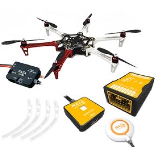 Гексакоптер DJI F550 ARF kit (E305 на 6 роторов) + NAZA-M V2, GPS, шасси (Комплект DUHPOLETA-13)-1972586