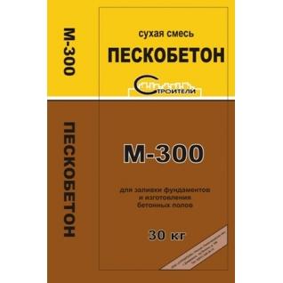 Сухая смесь Пескобетон М-300 30 кг-5080769