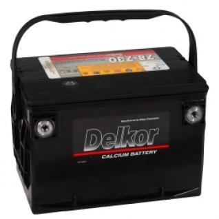 Автомобильный аккумулятор DELKOR DELKOR 95L BC (78-730) 780А прямая полярность 95 А/ч (268x178x184)-5789450