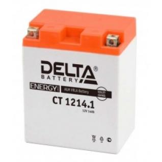 Аккумулятор для мототехники DELTA DELTA CT 1214.1 165А прямая полярность 14 А/ч (132x89x164)-5789153