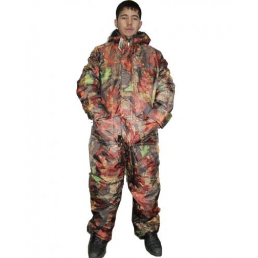 Куртка утепленная удлиненная Лес ткань Оксфорд-10602