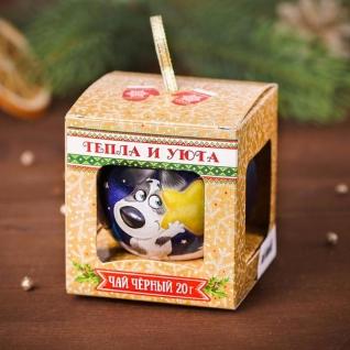 Подарочный чай в шаре-6893216